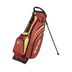 New-Wilson-Golf-NFL-CarryStand-Bag-San-Francisco-49ers-0
